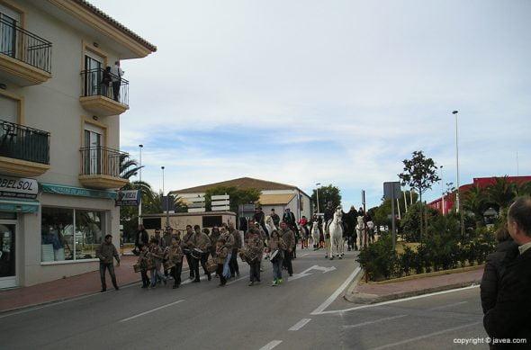 Colla Xirimitab's en San Antón