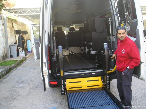 Conductor de Ambulancia Adaptada
