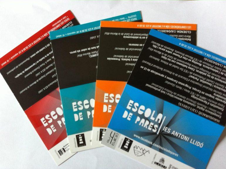 Guías de programación de la Escola de Pares del IES Antoni Llidó