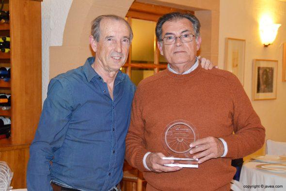 Joaquín Serrano con Manolo Martínez