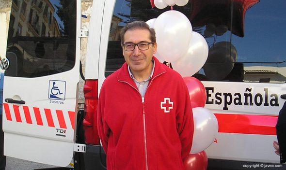 José Luis Domenech presidente Cruz Roja Xàbia