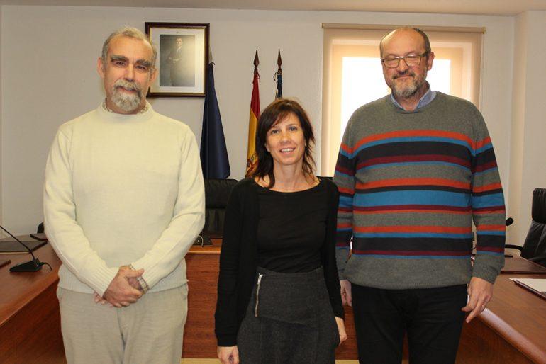 Josep Femenía con Jacinta Pastor y José Álvarez