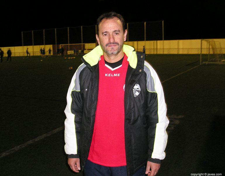Juanjo Cháfer entrenador del CD Jávea