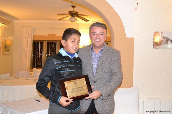 Mateo Del Castillo con José Chulvi