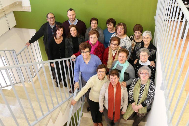 Participantes en el Taller de Memoria de Benitatxell