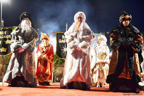 Reyes en Aduanes de la Mar