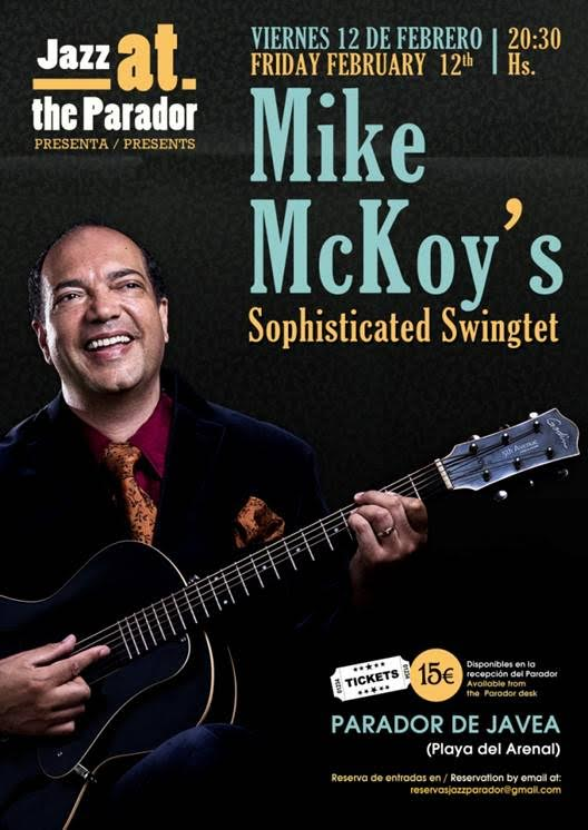 cartel del concierto de Mike McKoy's