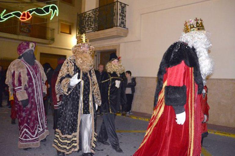 Reyes Magos en Benitatxell