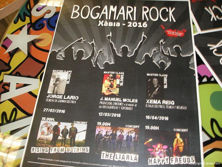 Cartel Bogamarí Rock 2016
