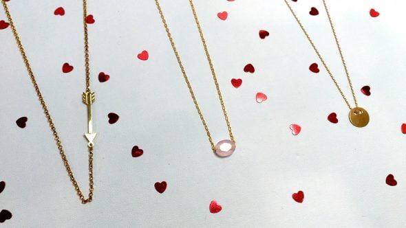 Colgantes diferentes diseños para San Valentin 2016 Infinity