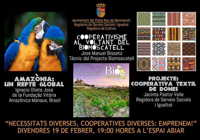 Carte de conferencias en Benitatxell