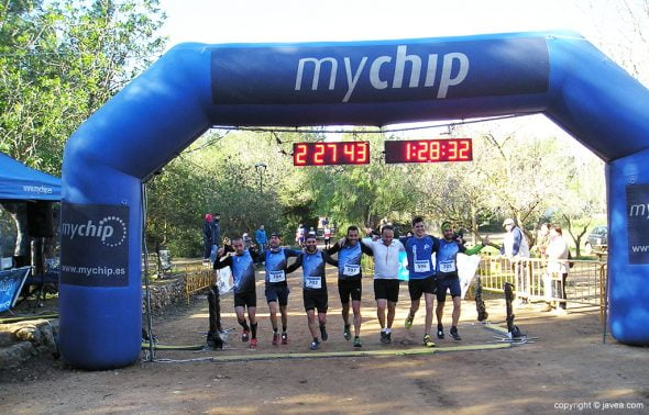 Equipos La Carena Team y Els Abellans Trail