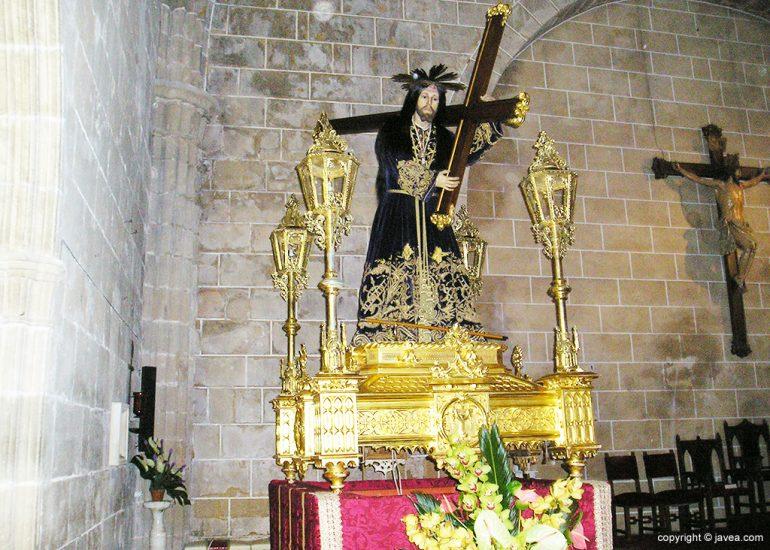 Jesús Nazareno en la Iglesia de San Bartolomé