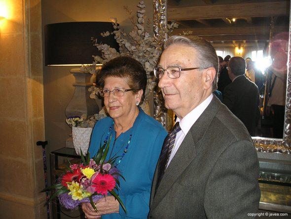 José Llidó y Pepita Cholbi