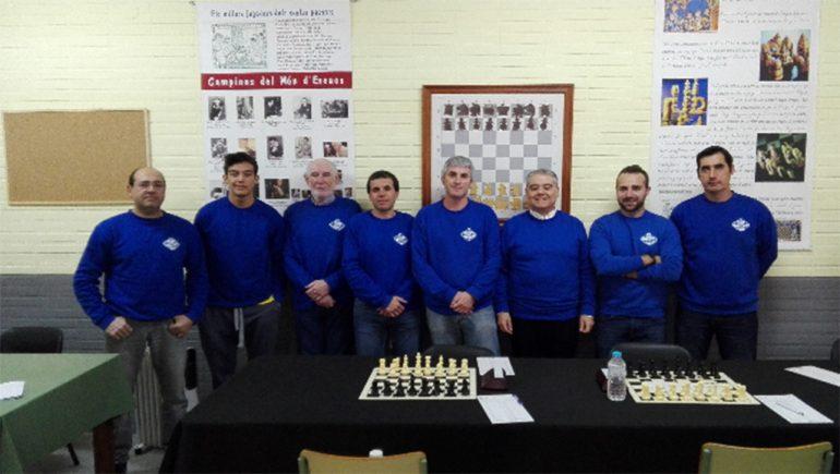 Jugadores del Club Escacs Xàbia A