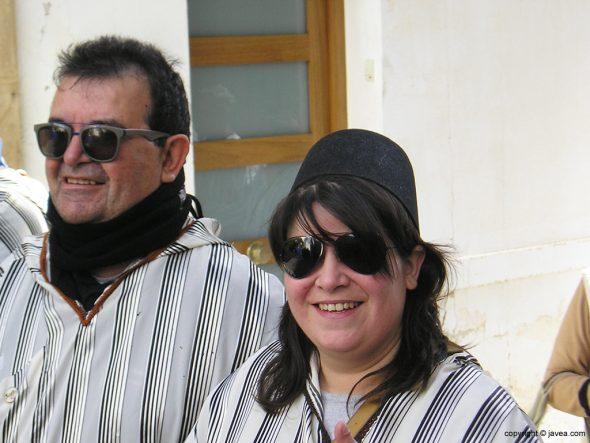 La edil Marta Bañuls junto a su padre