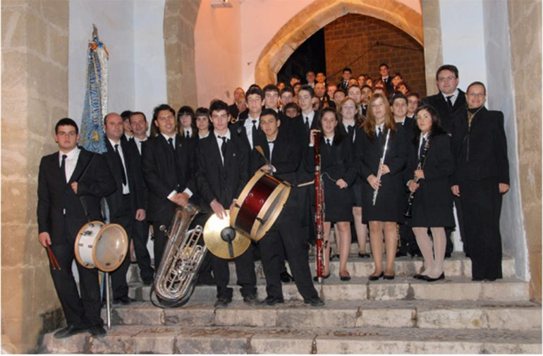 Músicos de la Banda de Xàbia