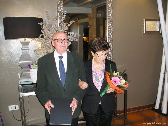Marcos Bas y Teresa Cholbi