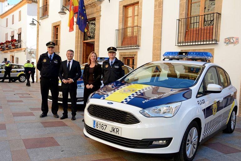 Nuevos coches de la Policía Local de Xàbia