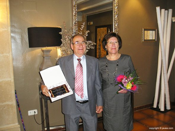 Pedro Cholbi y Mª Teresa Segarra