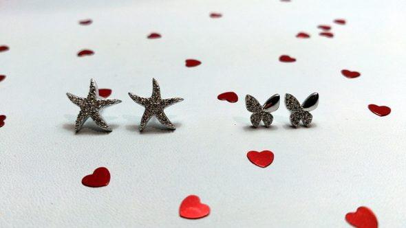 Pendientes estrellas San Valentin 2016 Infinity