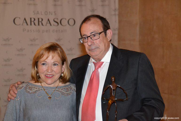 Pepe Lario y su esposa Estrella
