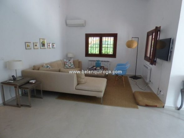 Sala de estar Casa en Belén Quiroga