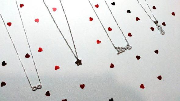 San Valentin 2016 Infinity Colgantes Love
