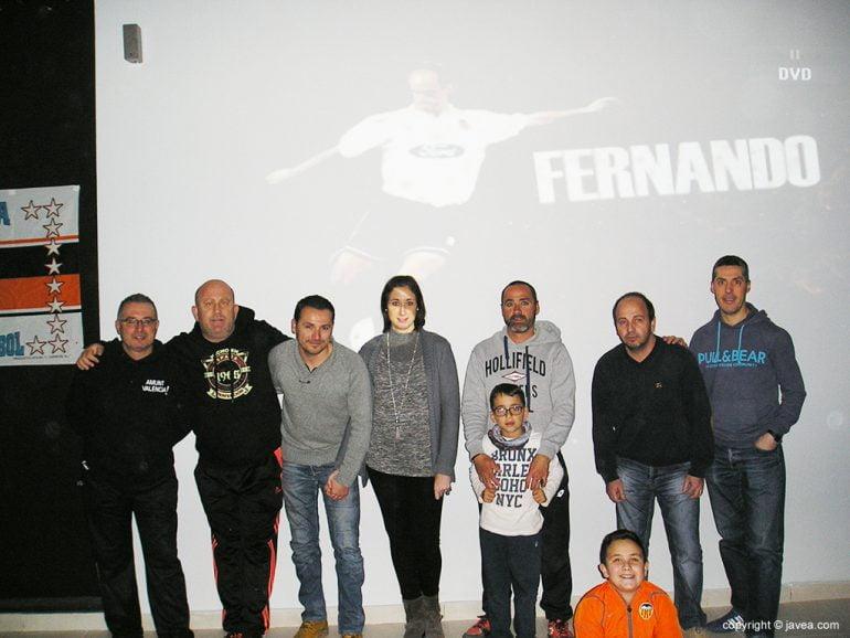 Peñistas del Valencia en Xàbia