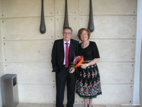Vicente Osca y Teresa Navarro