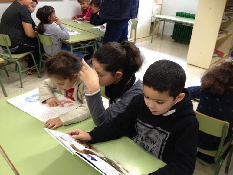Escolares en el proyecto Tutor-Lector
