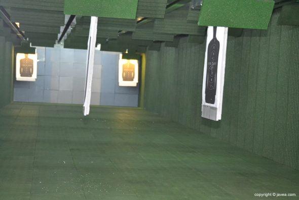 Galería de tiro de Xàbia