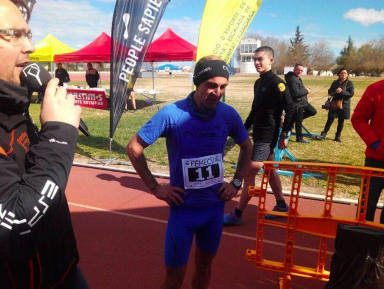 Ignacio Cardona en el Clariano Trail