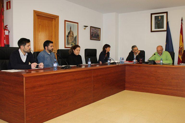 Pleno del ayuntamiento de Benitatxell