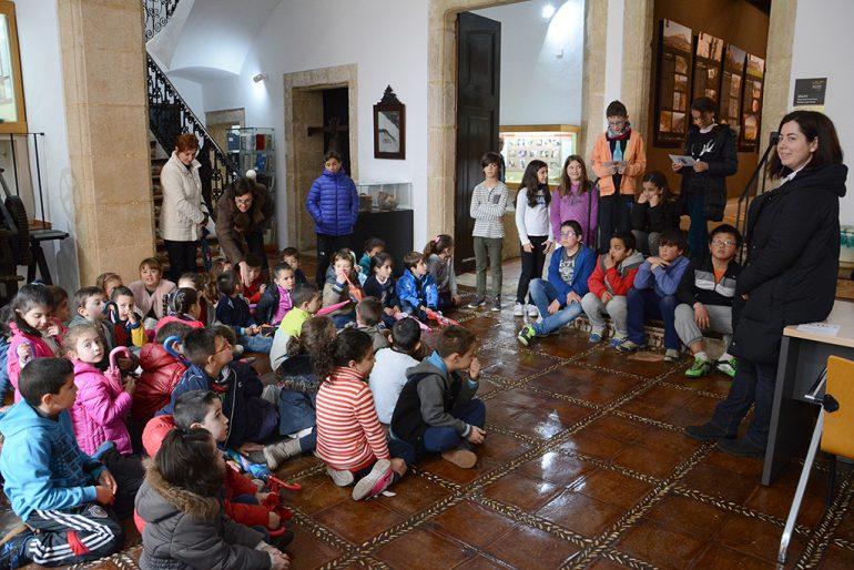 Alumnos del Vicente Tena en el Museo Soler Blasco
