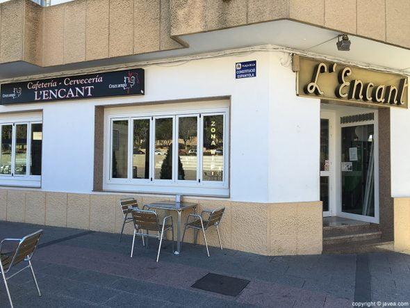 Cafetería L'Encant fachada