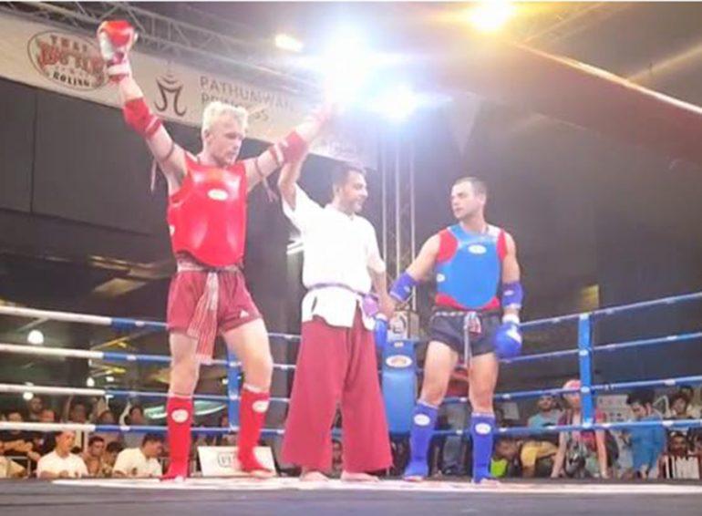 Cain Kiernan vencedor en la semifinal