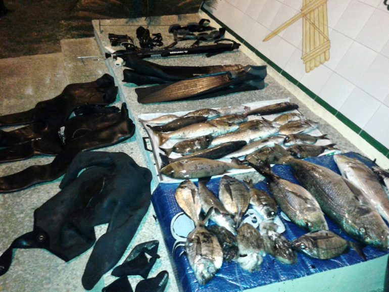 Capturas de Pesca furtiva en Xàbia