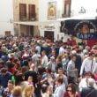 Domingo Pascua - Lleno de público en los estands
