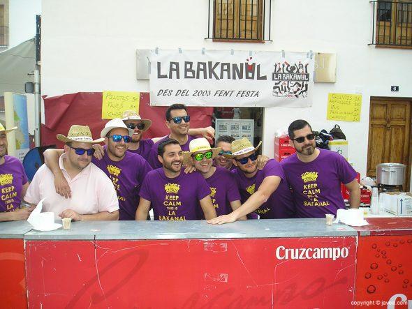 Domingo Pascua - Estand Peña La Bakanal