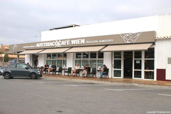 Entrada Austriaco Café Wien