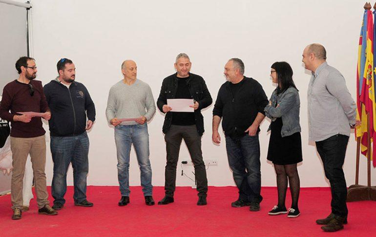 Entrega premios rally fotográfico de Gata