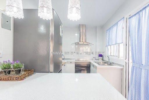 Inmobiliaria Belen Quiroga - Cocina del  apartamento