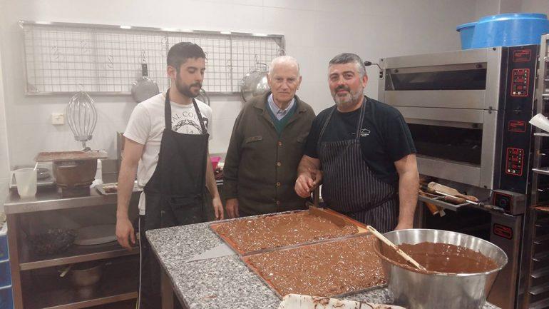 Jordi, Pepito y Francisco de la Pastisseria Diego