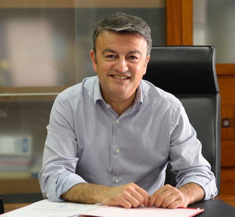 José Chulvi en su despacho