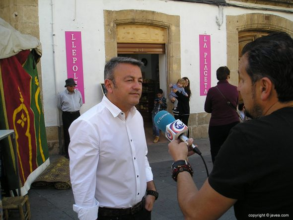 José Chulvi en la inauguración de la Fira