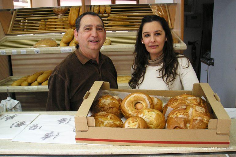 Meni y Cristina Fernández de Panadería Fersan