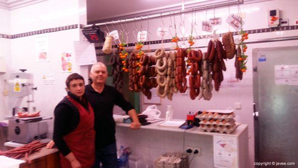 Pepe y Kika Pedrós de Carniceria Casa Pichi