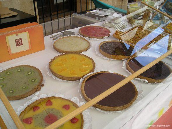 Puesto de dulces en la Fira d'Artesanía