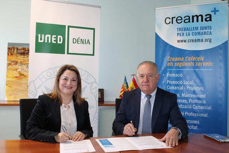 Raquel Marti junto a Sebastian Cañadas